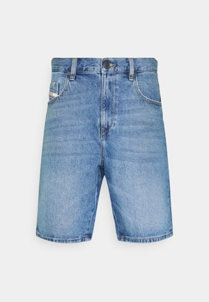 D-STRUKT-SHORT - Farkkushortsit - medium blue