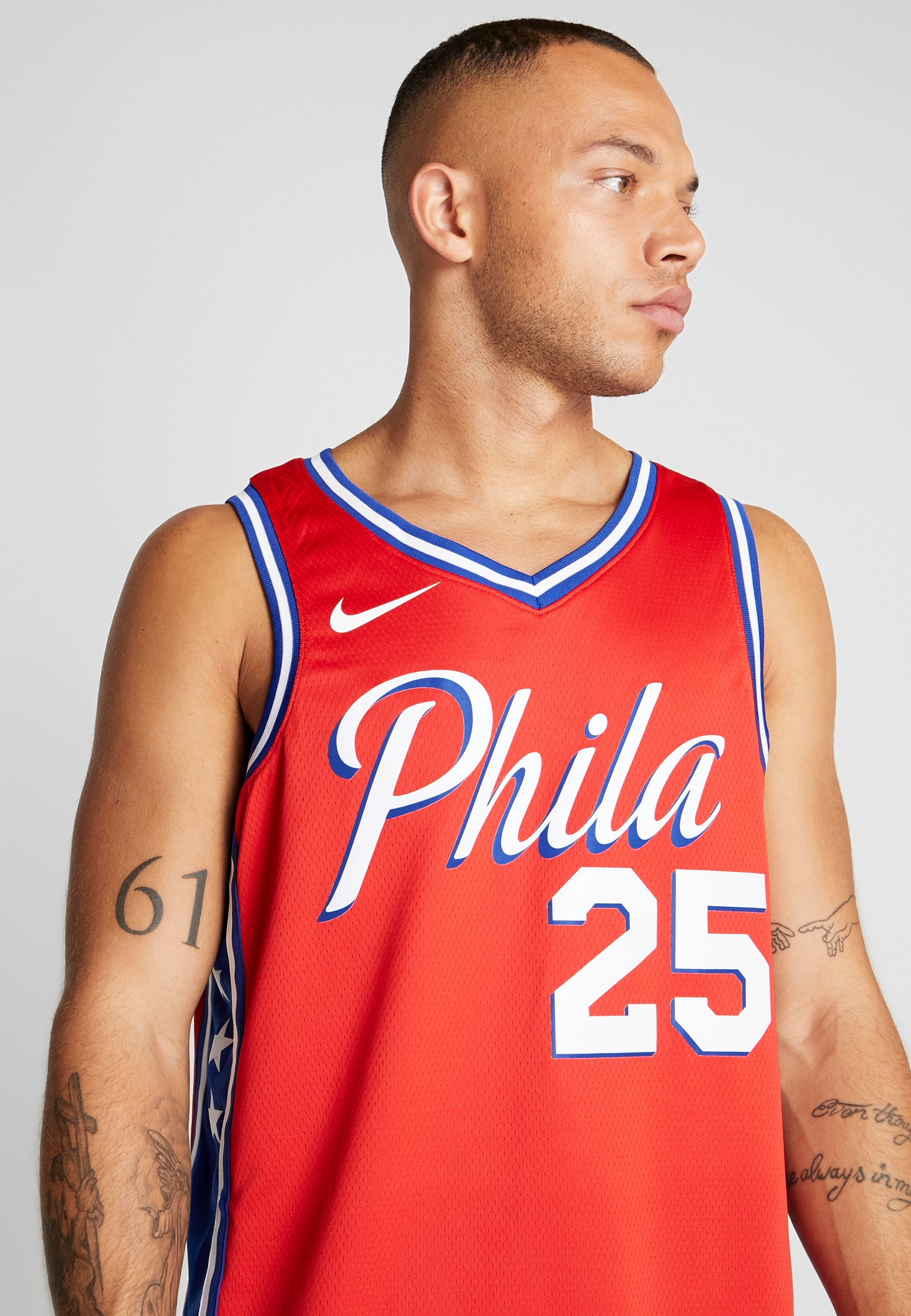 Nike Performance NBA PHILADELPHIA BEN SIMMONS STATEMENT - Article de supporter - university red
