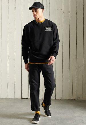 WORKWEAR CREW - Sweatshirt - black