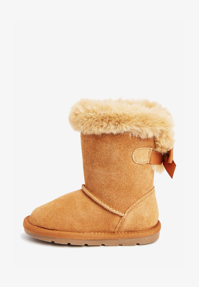PULL-ON - Winter boots - brown