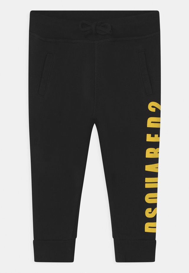 UNISEX - Tracksuit bottoms - black