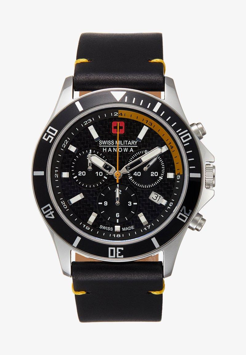 Swiss Military Hanowa - FLAGSHIP RACER - Chronograph watch - black