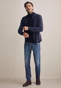 Falconeri - Shirt - stone blue denim - 1