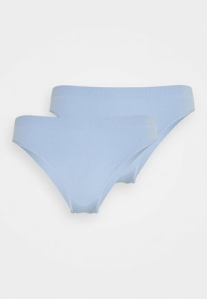 TORA CHEEKY BRIEFS 2 PACK - Slip - light blue