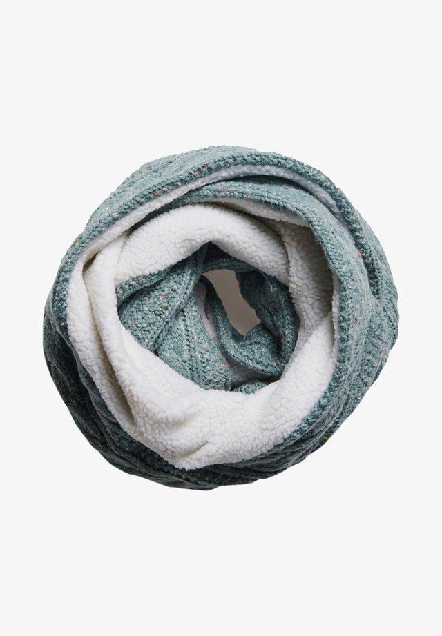 GRACIE CABLE - Sjaal - sea blue tweed