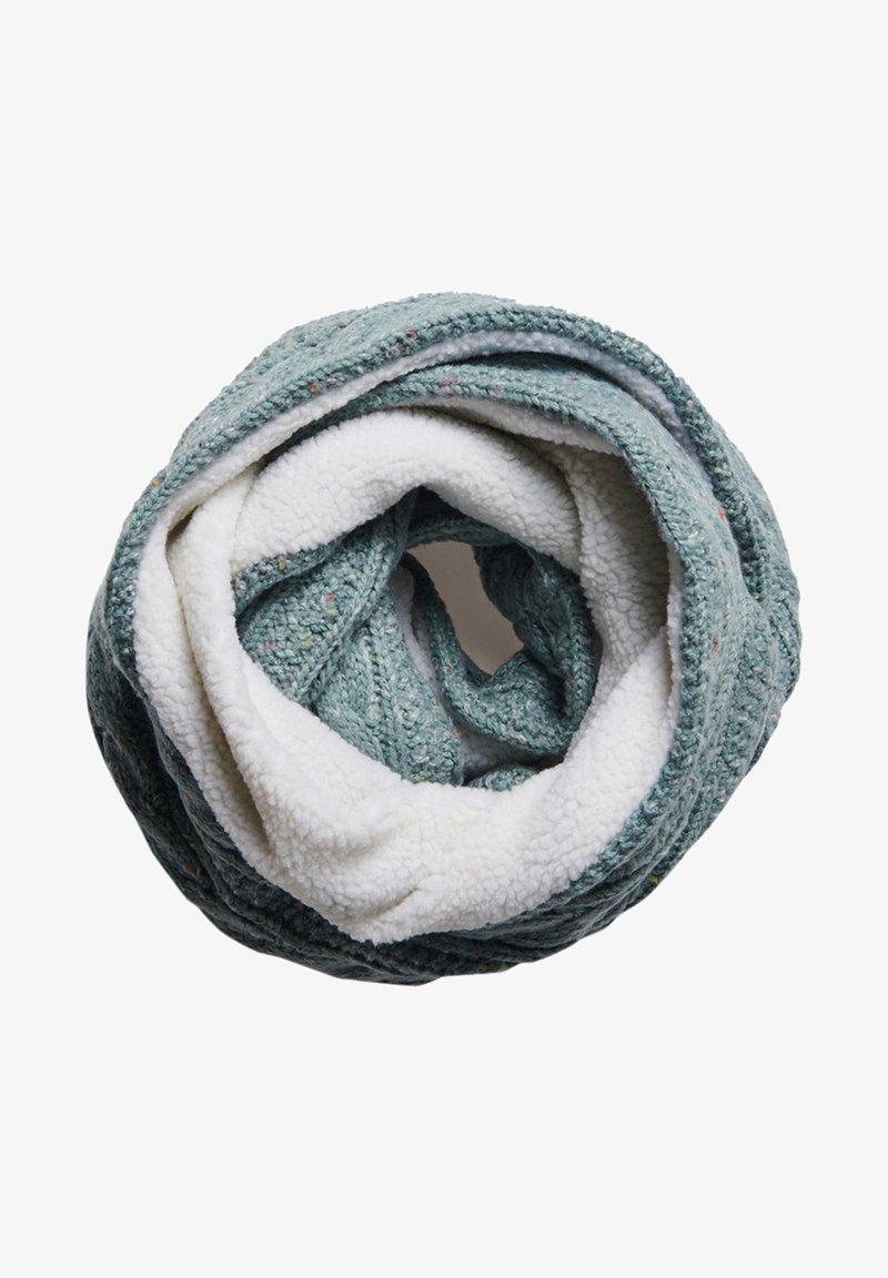 Superdry - GRACIE CABLE - Snood - sea blue tweed