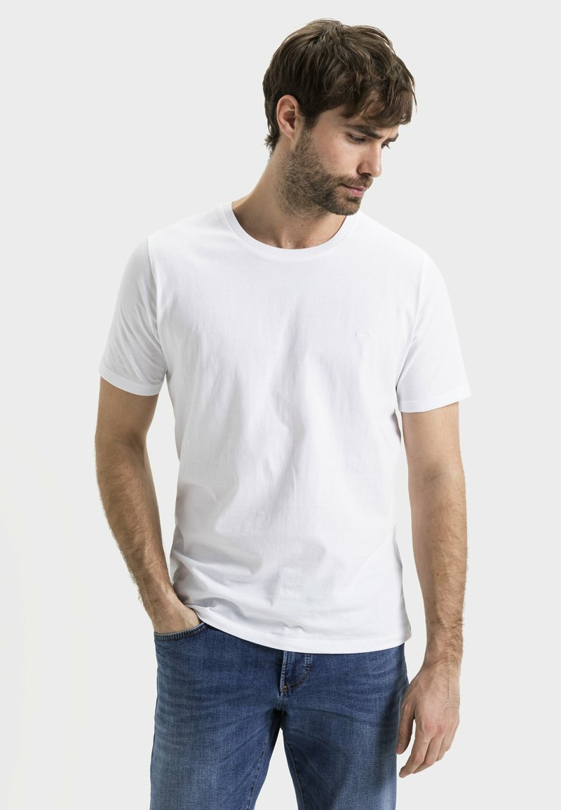 camel active - Basic T-shirt - white