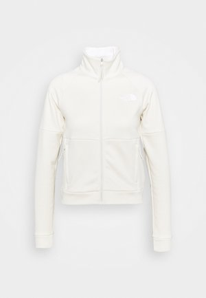 FULL ZIP JACKET - Fleecová bunda - vintage white heather