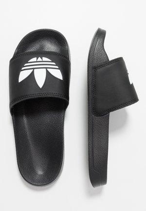 ADILETTE LITE - Mules - core black/footwear white