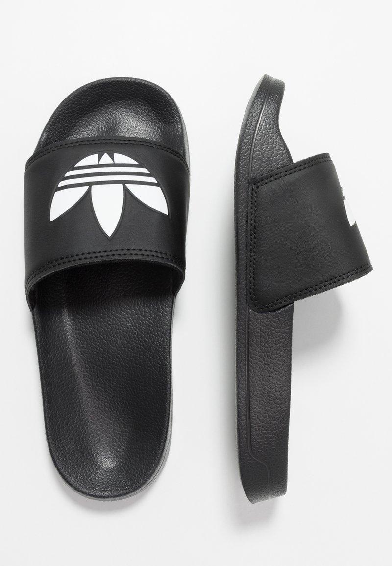 adidas Originals - ADILETTE LITE - Pantofle - core black/footwear white