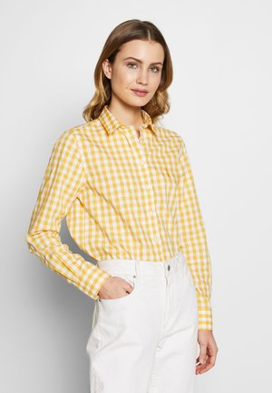 THE BROADCLOTH - Button-down blouse - mimosa yellow