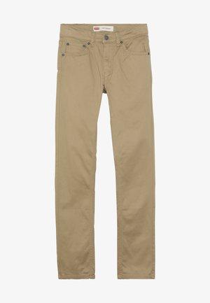 510 SUEDED PANT - Kalhoty - harvest gold