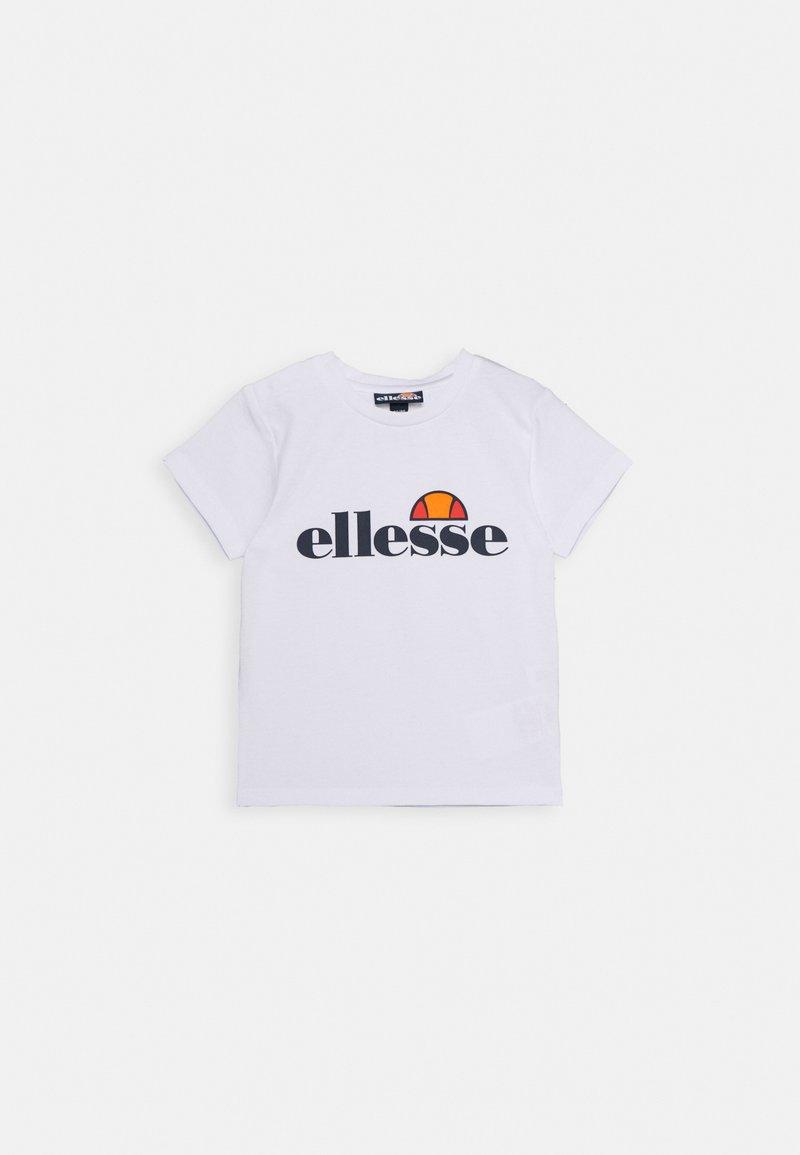 Ellesse - RAZOR BABY UNISEX - Camiseta estampada - white