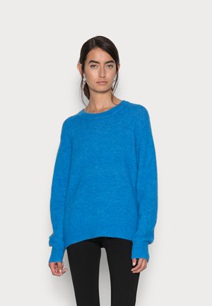 SILJE UPGRADE CREW NECK  - Neule - brilliant blue