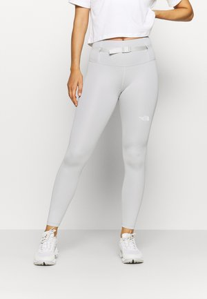 ACTIVE TRAIL HIGH RISE WAIST PACK - Leggings - tin grey
