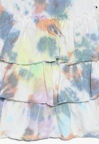Molo - BELL - Áčková sukně - white/multi-coloured - 3