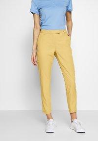 Cross Sportswear - SOLID - Chinosy - deep birch - 0