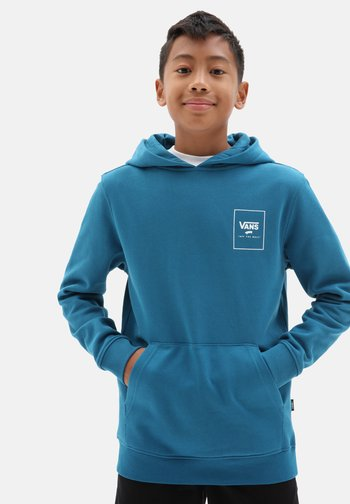 BY PRINT BOX BACK PO  - Hoodie - moroccan bl/xtreme sharks