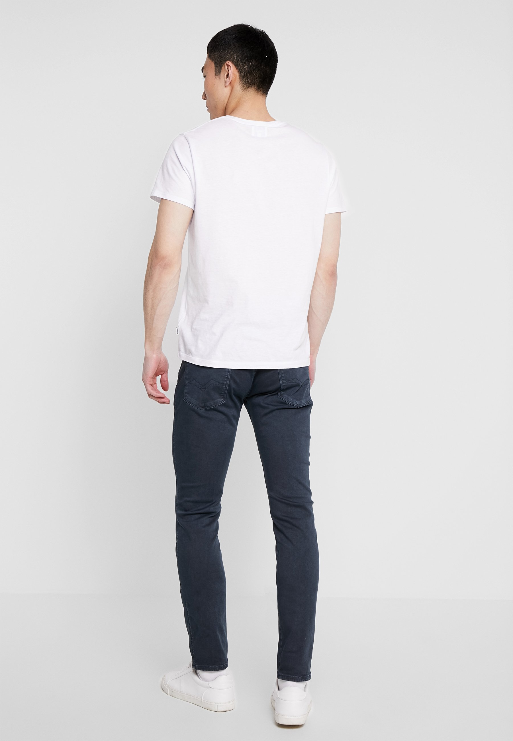Replay Anbass Hyperflex - Jeans Slim Fit Blue/blå