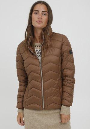 FRBA - Down jacket - gold brown