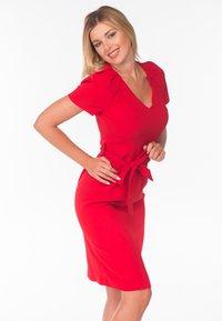 Diyas London - Shift dress - red - 0