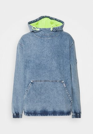 NOVELTY POP OVER UNISEX - Denim jacket - shane