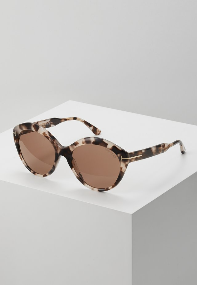 Lunettes de soleil - mottled brown