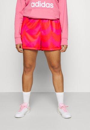 Shorts - vivid red/team real magenta