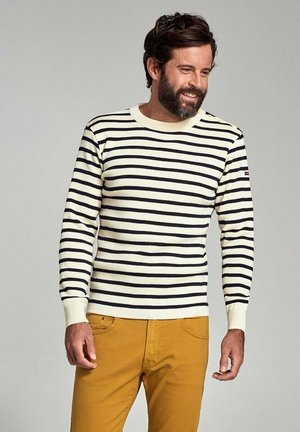 FOUESNANT - PULLOVER MARIN - Jumper - nature rich navy