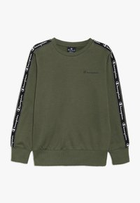 Champion - AMERICAN CLASSICS PIPING CREWNECK  - Sweatshirts - khaki - 0