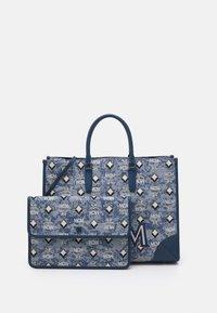 MCM - VINTAGE TOTE LARGE SET UNISEX - Handbag - blue - 3