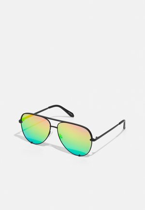HIGH KEY - Sunglasses - black/rainbow
