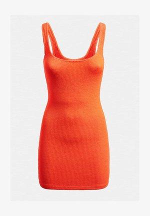 CRINKLE - Sukienka etui - orange