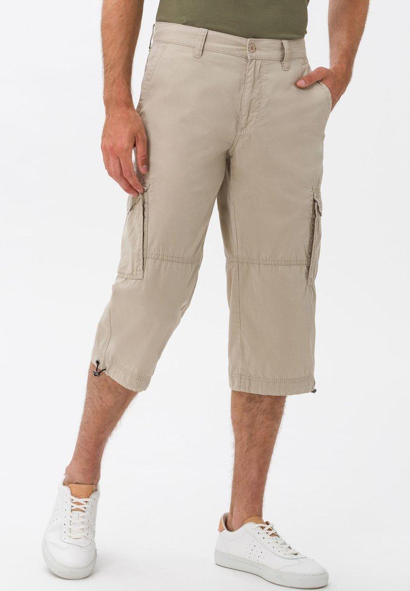 BRAX - STYLE LUCKY - Cargo trousers - beige
