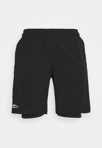HERREN SHORTS SWIFT - Sports shorts - schwarz
