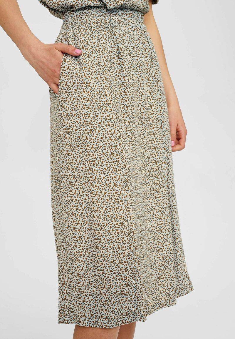 Nümph - NUCECELIA - A-line skirt - cashmere blue