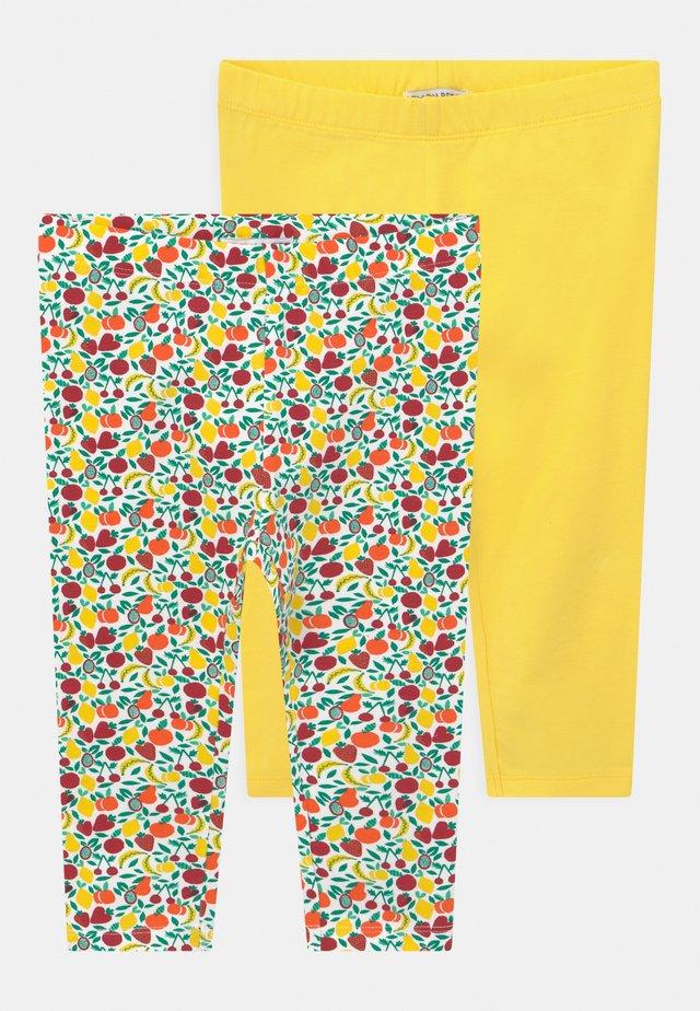 SMALL GIRLS 2 PACK - Leggings - Trousers - celandine