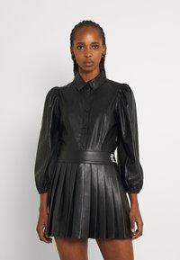 b.young - BYESONI SHIRT - Button-down blouse - black - 0