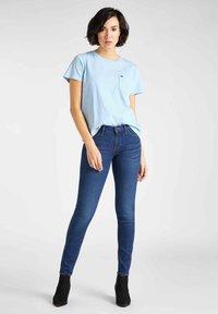 Lee - SCARLETT - Jeansy Skinny Fit - sky blue - 1