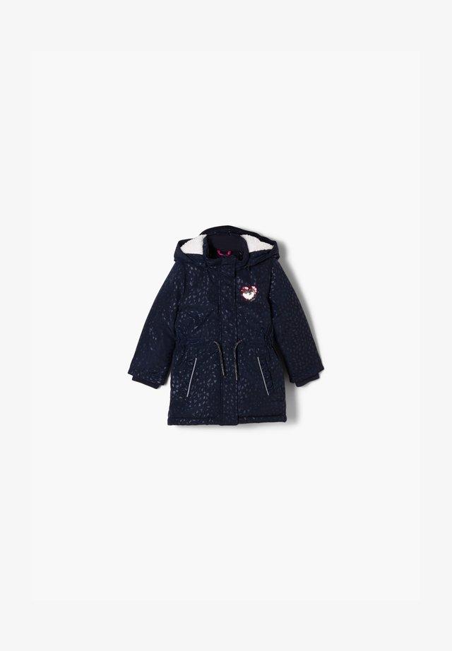 Winter coat - dark blue