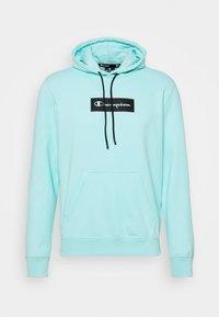 Champion - HOODED - Sweatshirt - turquoise - 4