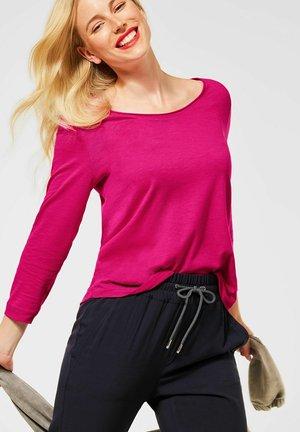 MIT 3/4 ÄRMEL - Long sleeved top - pink