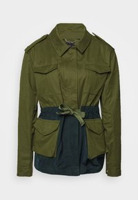 Scotch & Soda - TWO TONE FIELD JACKET  - Lehká bunda - green - 4