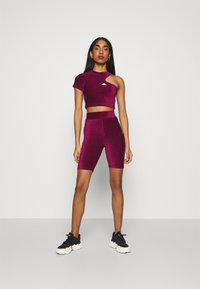 Ellesse - MARGIOT - Camiseta estampada - burgundy - 1