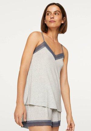 MIT MODAL-ANTEIL  - Pyjama top - grey