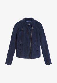 Sandwich - Faux leather jacket - blue - 3