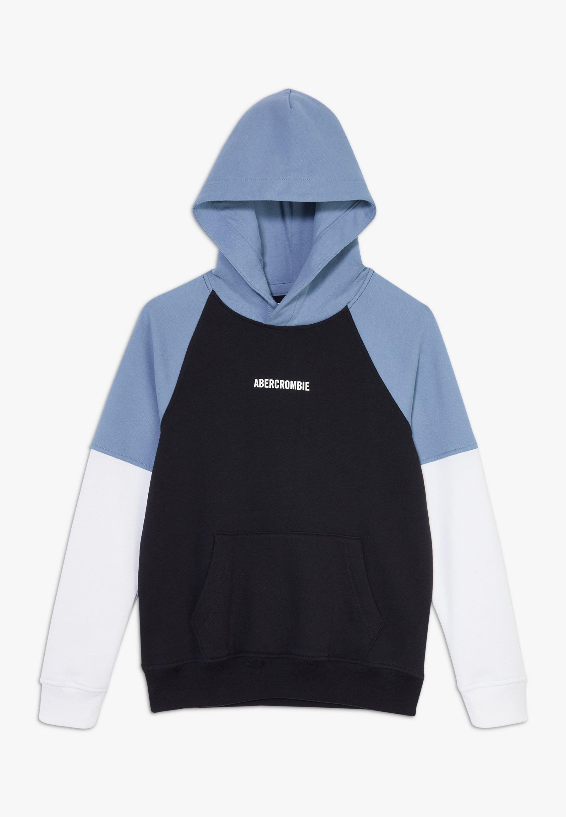 Große Förderung Abercrombie & Fitch JAN2 T2 COLORBLOCK - Sweatshirt - navy blue | Damenbekleidung 2020
