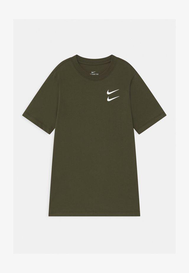 T-shirt con stampa - cargo khaki