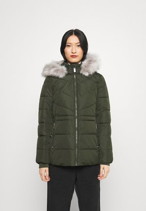 PADDED - Winter jacket - camo green
