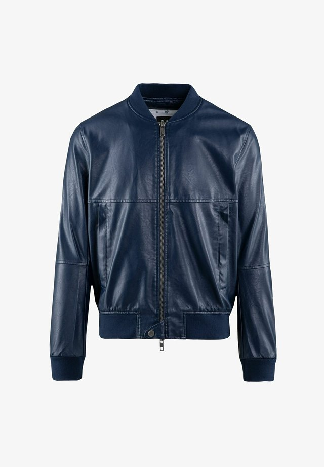 Giacca in similpelle - navy blue